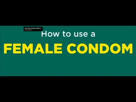 How To Use A Female Condom video