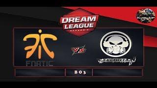 [DOTA 2 LIVE]Fnatic VS Execration Bo3 CLOSE QUALIFIER  Dream League Season 9