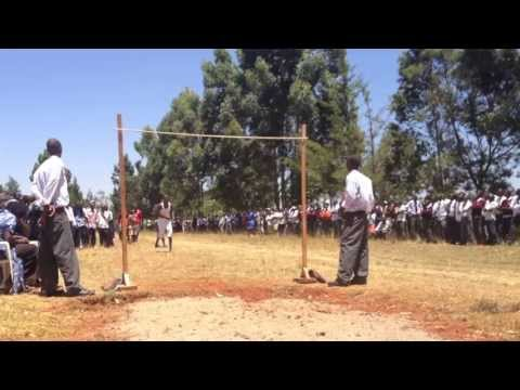 Kenyan High School High Jump (official) video