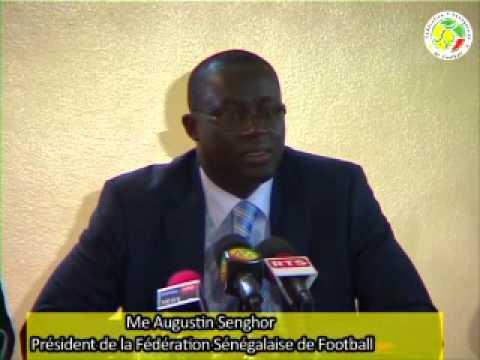 Me Augustin Senghor  Attelages des équipes nationales