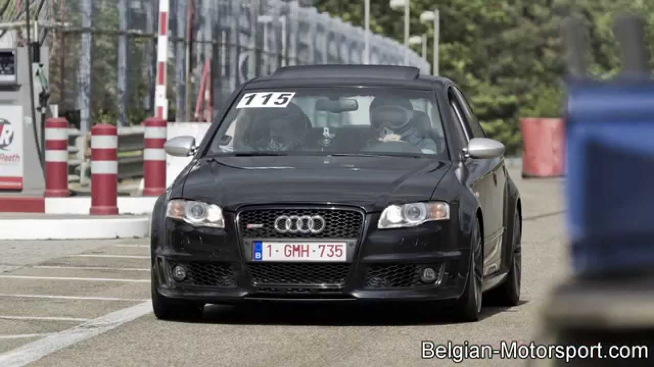 Audi Rs4 B7 With Loud Capristo Exhaust Youtube