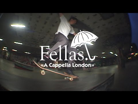 "Hélas' ""Fellas: a Cappella London"" Video"