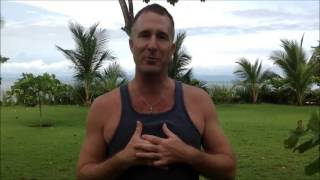 VIP Experience Client Aaron Star of Blue Osa Yoga Retreat + Spa, Costa Rica - TheBigFactor.com