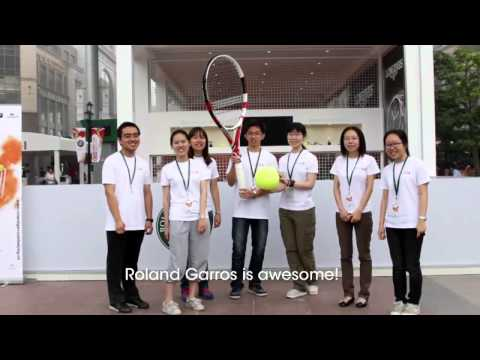 Roland Garros Beijing 2012 | Hello Video | G2S