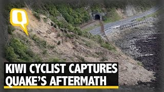 The Quint: Cyclist Captures Devastation Caused By Earthquake In New Zealand