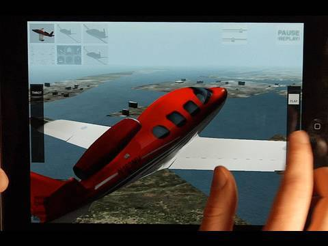 Planereview on Plane 9 Flight Simulator For The Ipad  Review