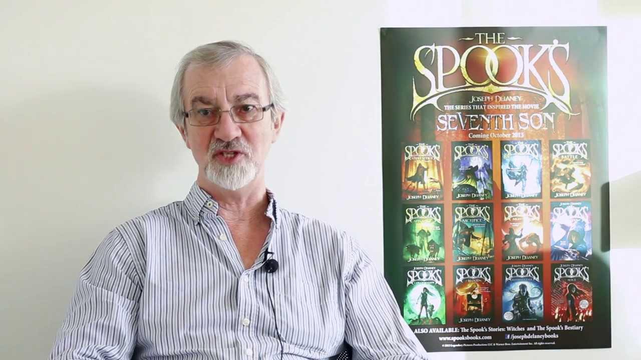 Joseph delaney introduces the spook s revenge youtube