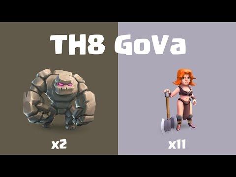 TH8 vs TH8 Mass Valk 3 Star (Sen Game Berlin)