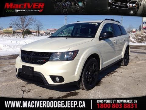 2014 Dodge Journey Sxt Blacktop Maciver Dodge Jeep