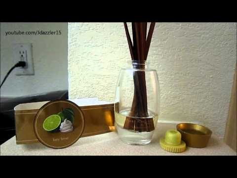 Here is my review on the yankee candle reed dissuser in keylime enjoy