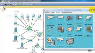 Testing a LAN with Cisco Packet Tracer - with Voice Narration