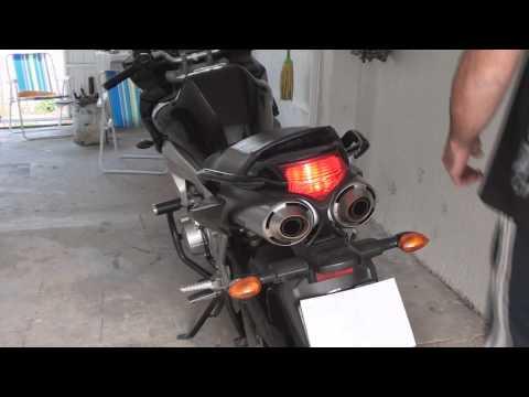 Ronco da Yamaha Fazer 600 FZ6 Escapamento Exhaust  - EletroBoy