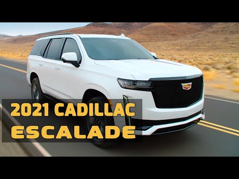 FIRST LOOK: 2021 Cadillac Escalade On The Road