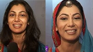 Make up Transformation: Sriti to Ganga of 'Balika Vadhu'