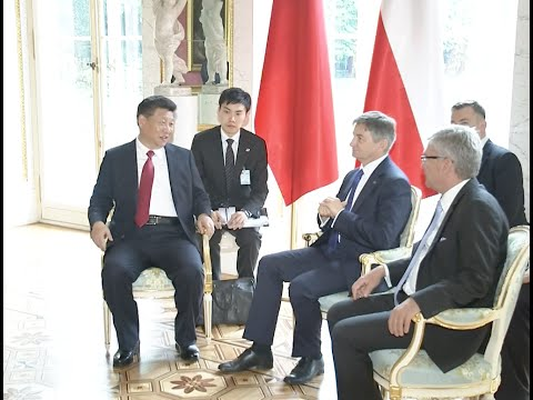 Chinese President Urges Deeper Parliamentary Cooperation between China, Poland