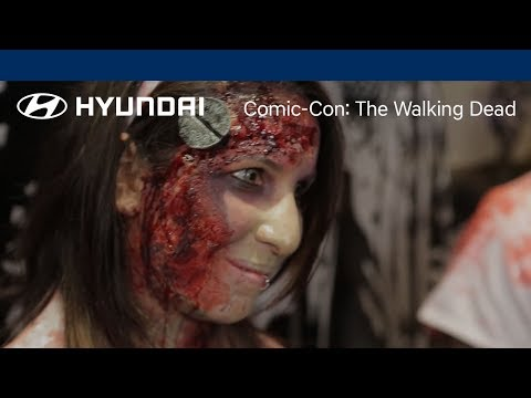 The Walking Dead Zombie Costume Event