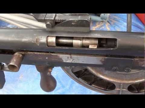 WW1 Light machine gun: French Chauchat (Sho-Sho)