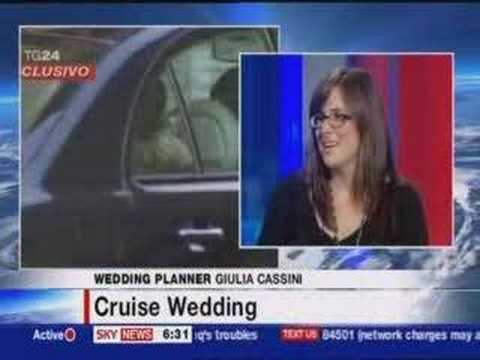 Giulia Cassini on Sky News