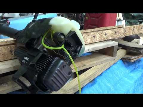 Rebuilding A Weed Trimmer Carb & Fuel Line Replacement