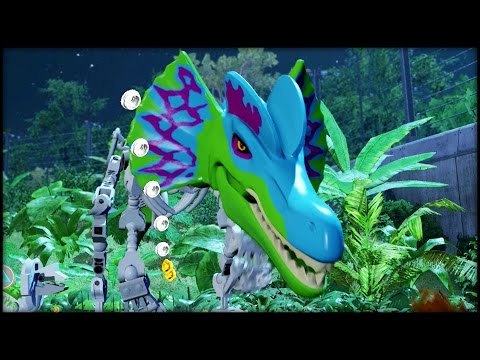 LEGO Jurassic World - Platinum Dino! CUSTOM DINOSAURS!