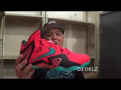 Nike Lebron 11 Elite XI Super Hero Sneaker Review HD + On Feet WIth DJ Delz