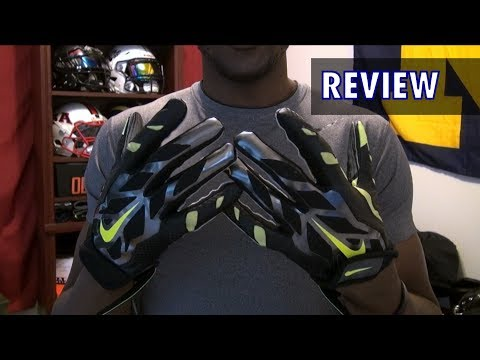 Nike Vapor Jet 3.0 Football Gloves Review - Ep. 167