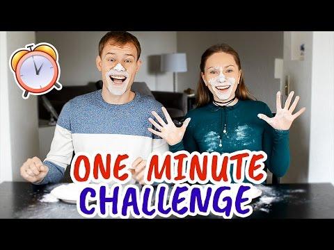 ОДНА МИНУТА НА ЧЕЛЛЕНДЖ + НАКАЗАНИЕ // ONE MINUTE CHALLENGE