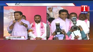 Ramagundam MLA Korukanti Chander Joins TRS in the Presence of KTR  Telugu