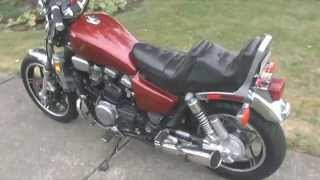 1982 Honda Magna V45 Cold Start and Drive