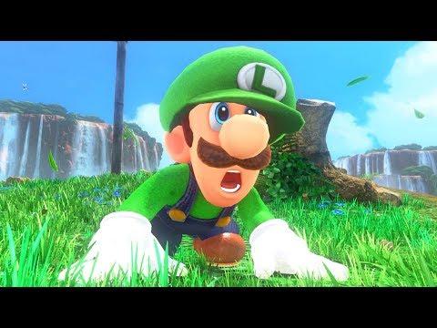 Super Luigi Odyssey Walkthrough Part 1 - Intro + Cap & Cascade Kingdom