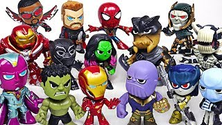 Thanos, villains appeared! Funko Marvel Infinity War Avengers Hulk, Iron Man! Go! - DuDuPopTOY