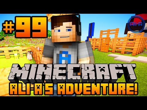 Minecraft Ali As Adventure #99 NO MORE CHICKEN ESCAPE