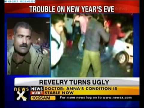 Gurgaon cops lathicharge mob attempting to harass girl