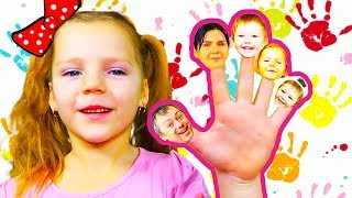 Finger family song Nursery Rhymes with MerciPolia daddy finger