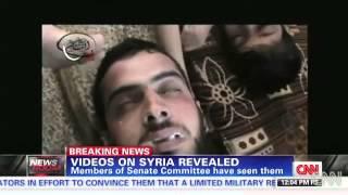 Videos muestran efectos del ataque químico sirio