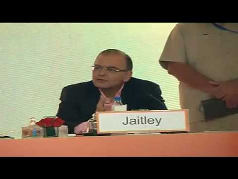 Shri Arun Jaitley on India and the High Growth Economics- Opportunities and Challenges