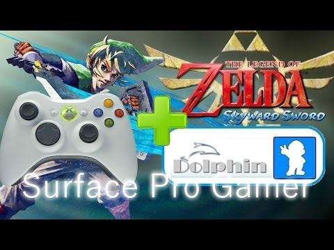 Zelda Skyward Sword with Xbox 360 Controler Configuration Tutorial. Dolphin emulator