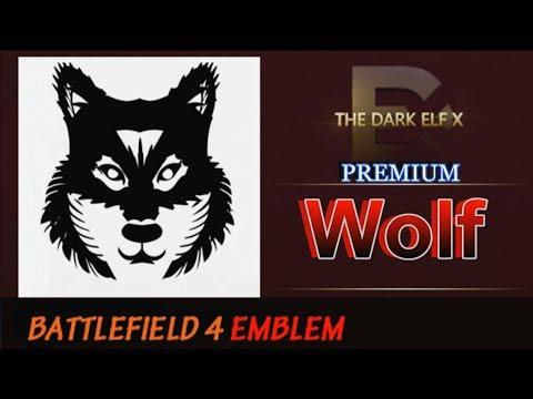 Battlefield 4 Emblem - Wolf (PREMIUM)