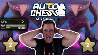 DOUBLE 2-Star Dark Spirit DESTROYS Everything!   Claytano Auto Chess Mobile 4
