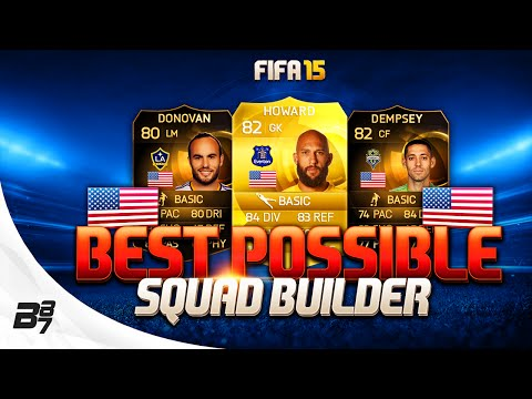 FIFA 15 | BEST POSSIBLE USA SQUAD BUILDER w/ IF DEMPSEY AND SIF DONOVAN