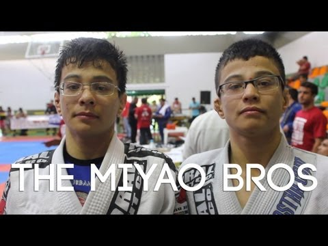 Crazy BJJ guards, berimbolos & reverse de la Riva: Miyao brothers tournament highlight