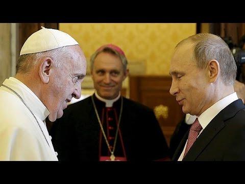 Pope calls on Putin to make