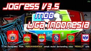 New Textures JOGRESS V3poin5 {V3.5} Mod Liga Indonesia + Savedata terbaru 2018   Goblin tv 7.93 MB