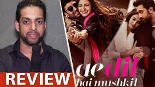 Download Ae Dil Hai Mushkil Review by Salil Acharya | Ranbir Kapoor, Anushka Sharma | Full Movie Rating 3Gp Mp4