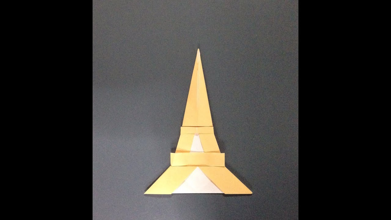 ��� ������ ��� ���� how to make an the eiffel tower