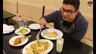 Dine Out With Adnan - Awesome Kacchi Biriyani - Sultan's Dine -  কাচিচ - Hillol - Dhaka - Bangladesh
