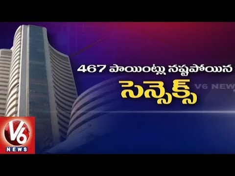 Sensex Fell Over 467 Points And Nifty Lost 151 Points In Trade | Mumbai | V6 News