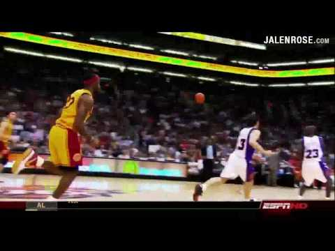 LeBron James Chasedown Blocks Highlight Reel Video