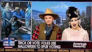 Trick or Vote FOX Interview