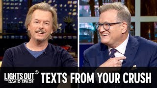 The App That Will Tell You If Your Crush Likes You (feat. Drew Carey) - Lights Out with David Spade